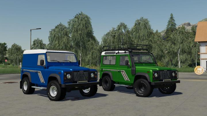 Land Rover Defender 90 V2