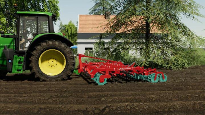 Kverneland Tlg 600 Cultivator V1.2