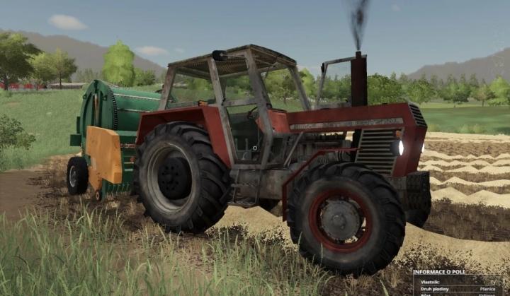 Zetor Crystal 8045 Tractor V1.0