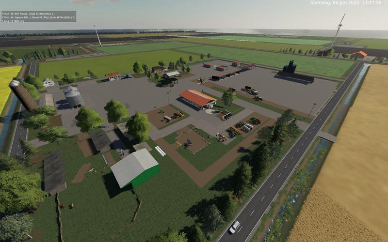 North Frisian March 4X Map V2.1