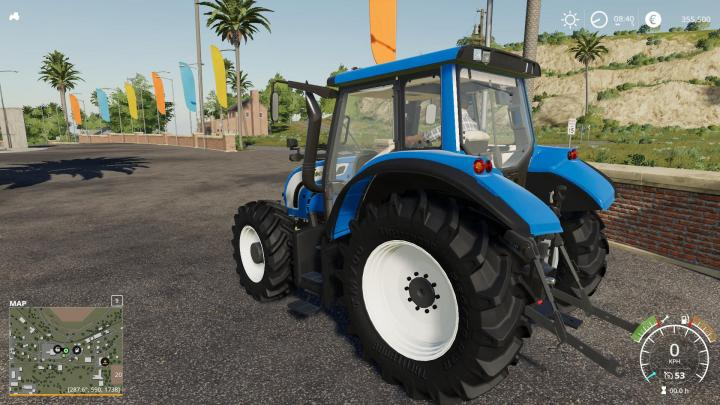 Old Valtra N142 Tractor