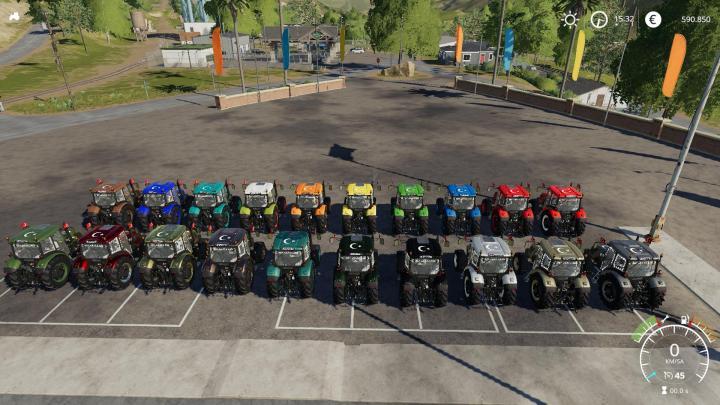 Basak 2110S Tractor V1.0