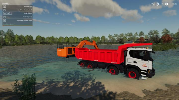 Scania Xt 8X8 Mining Truck V1.1