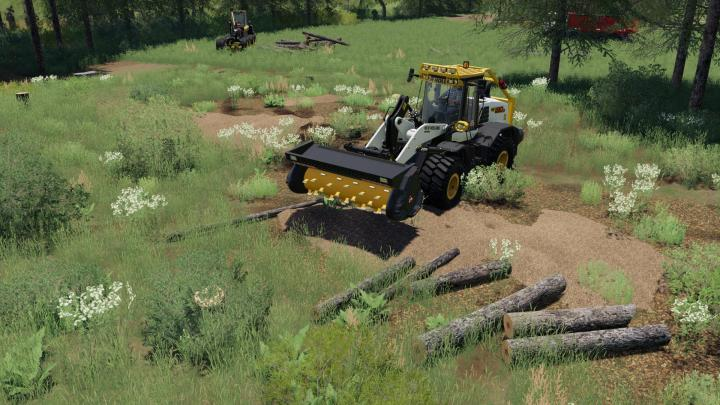 New Holland W-190 Forestier V1