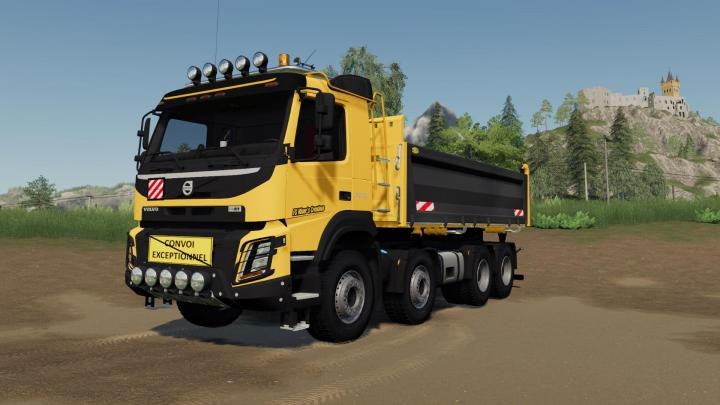 Volvo Fmx 8X4 Construction Edition V1.0