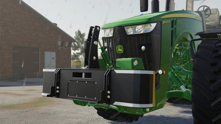 Traktorsafe Frontweights Pack V1