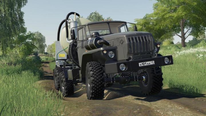 Ural 44202 Truck V1.0