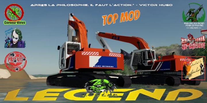 Hitachi Excavator Pack V2.0