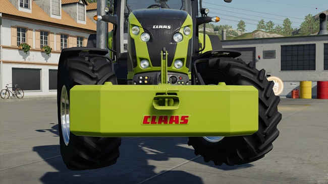 Weights Claas V1