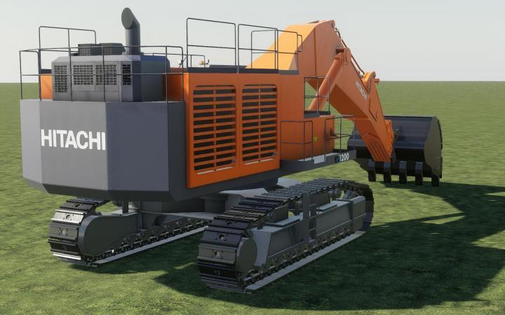 Hitachi Ex1200 V1