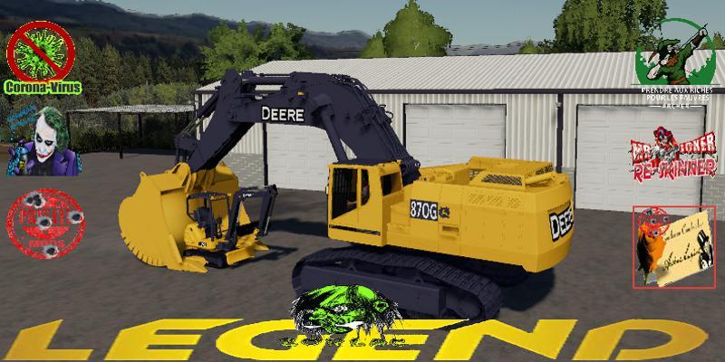 Deere Big Excavator 870G V1.5