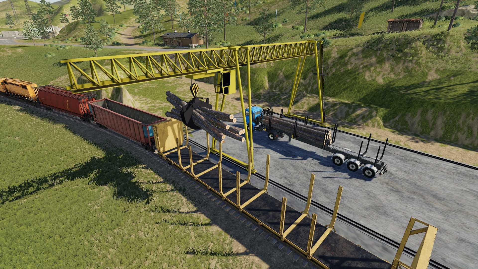 Wood Crane V1