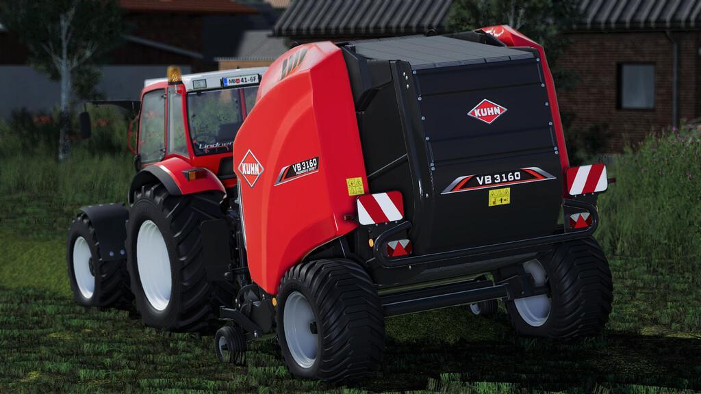 Kuhn VB3160 Baler Machine V1