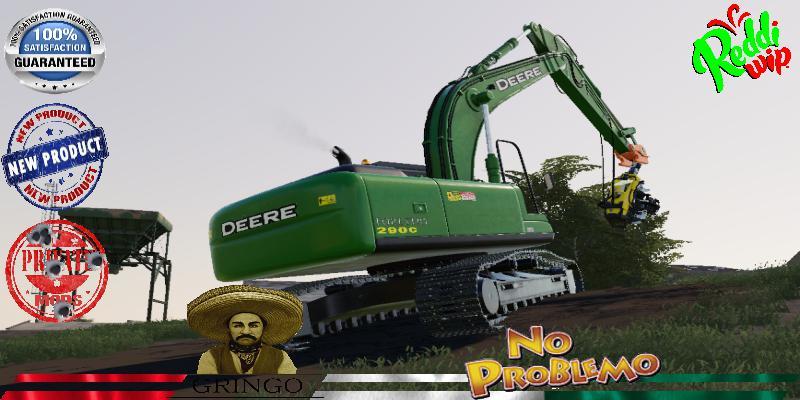 Deere Forestry Excavator 290C V1.5