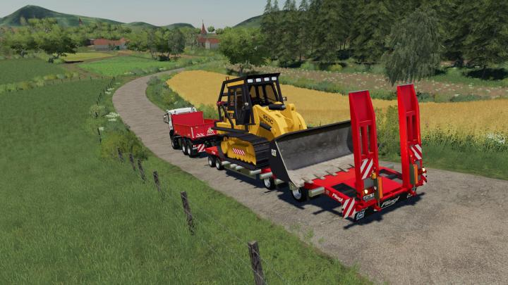 Fliegl Lowbody With Extensions V1.0