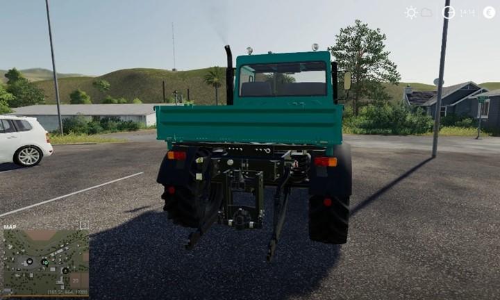 Unimog U90 Truck V1.0