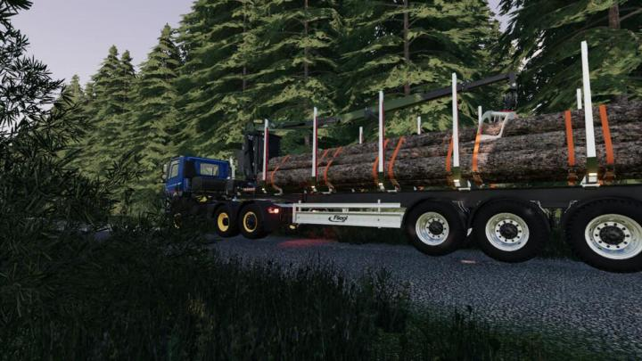 Fliegl Timber-Runner Z-Crane Pack V1