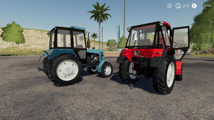 Umz 8240 Tractor V2.0