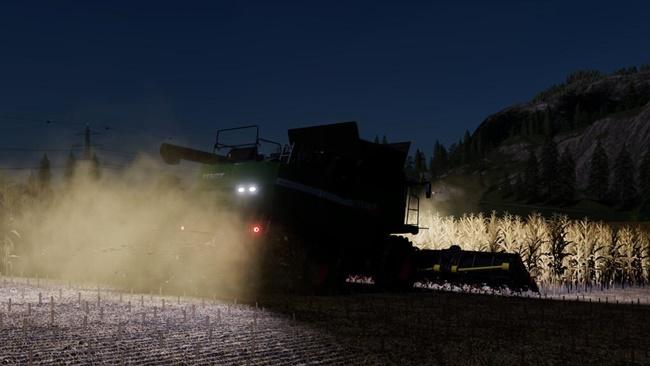 Fendt 9490 X Harvester V1