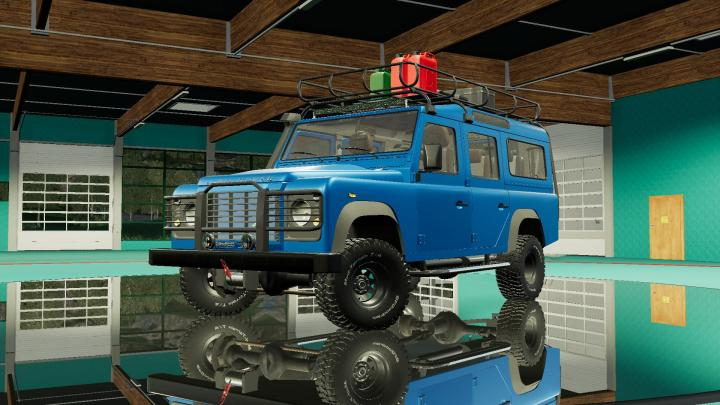 Land Rover Defender Wagon 110 V2