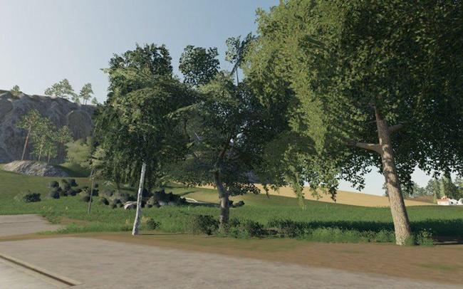 Dark Trees & Bush Textures V1
