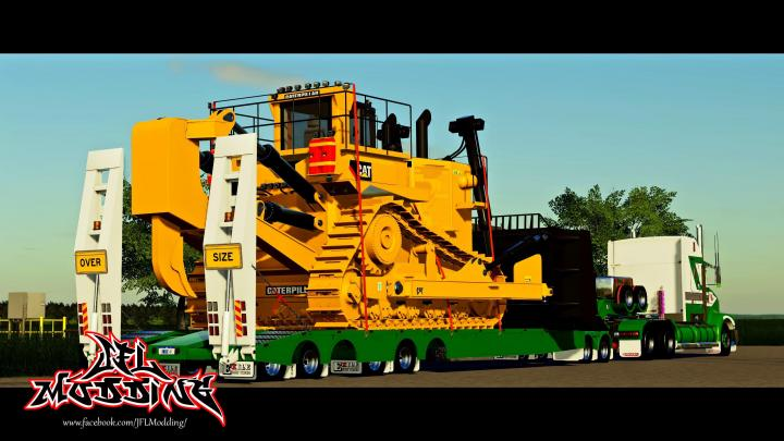 Exile Low Loader With Jeep V1