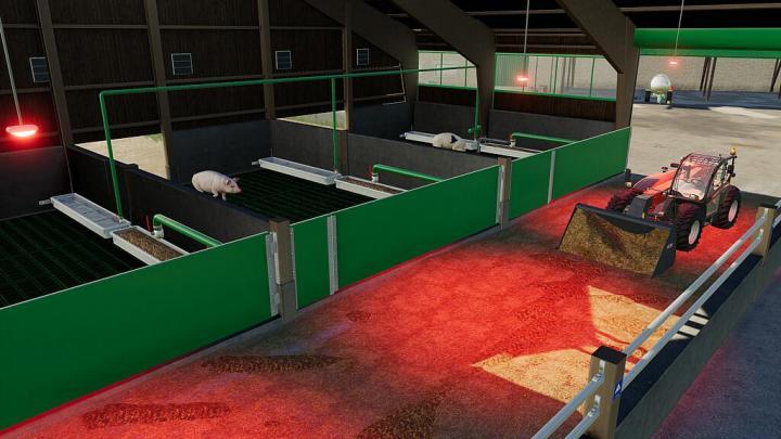 Modern Pigs Barn V1