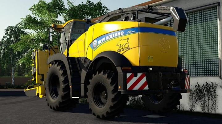New Holland Fr850 Yellow Bull V1.0