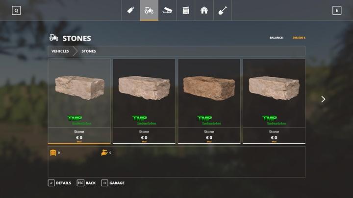 Stone Pack V1