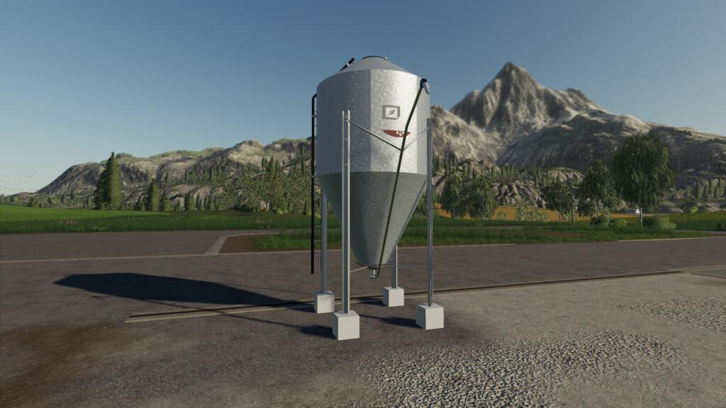 Seeds And Fertilizers Mini Silos V1