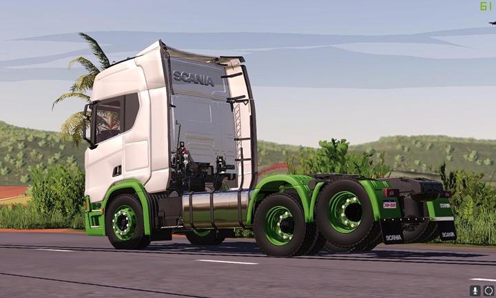 Scania S E R Truck V2