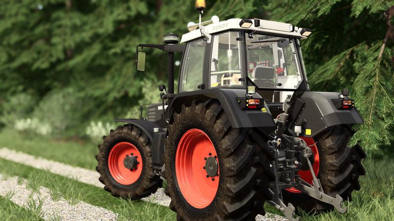 Fendt Favorit 500 Tractor V4