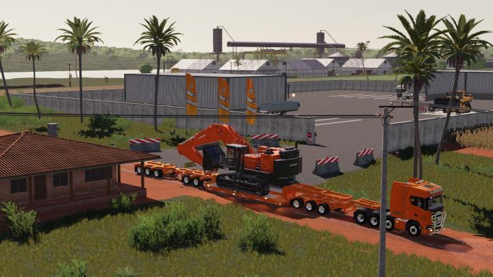 Scania Heavy Hauler 8X4 V1