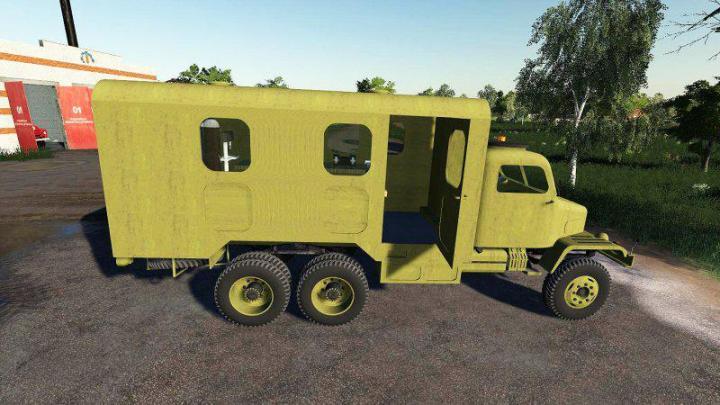 Praga V3S Service Truck V1