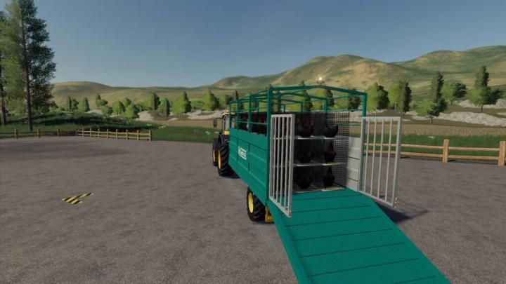 Camara Livestock Trailer V1