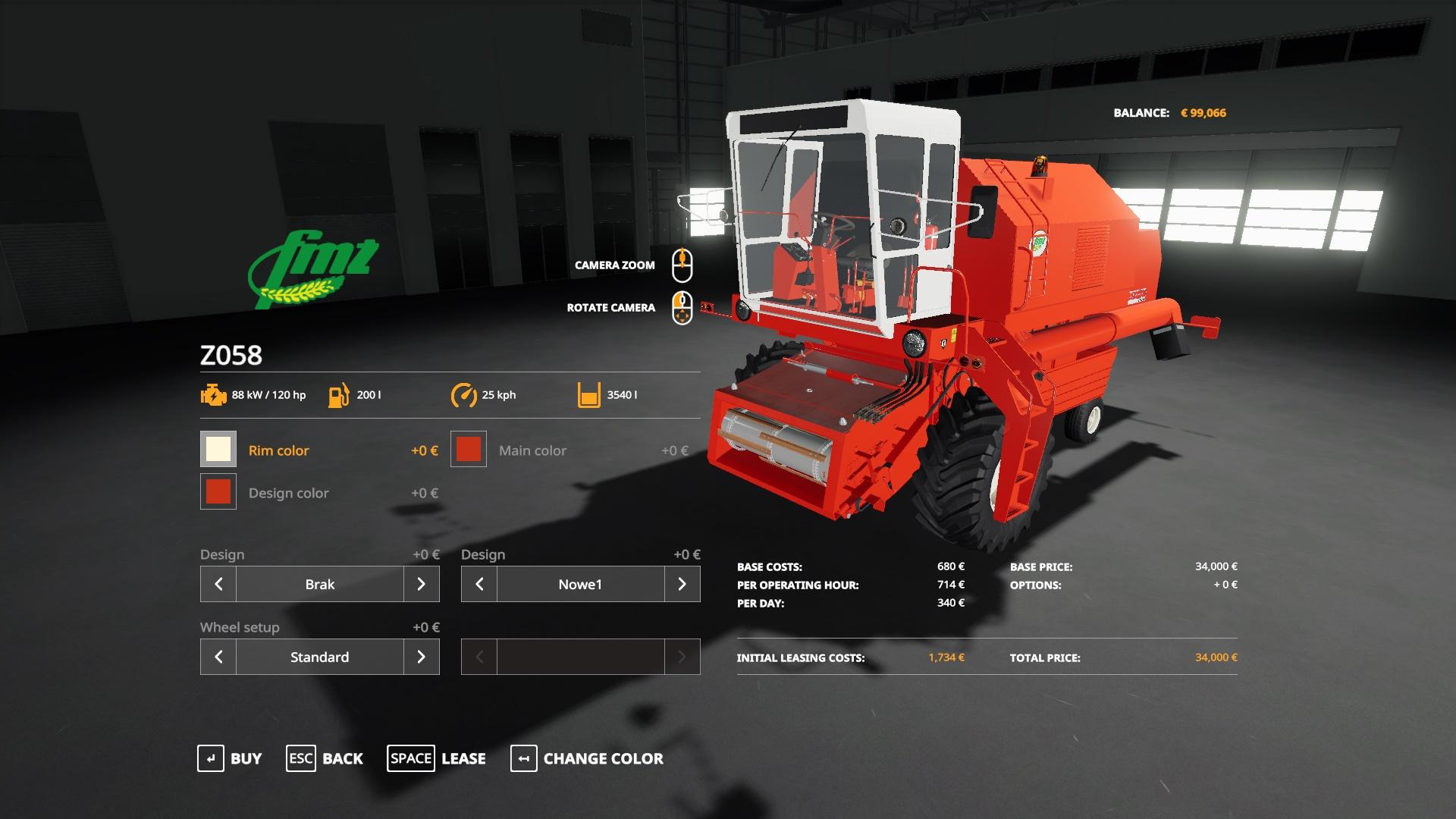 Case Maxxum Tractor V1