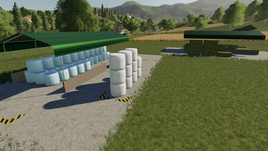 Dynamic Bale Storage Sheds V1