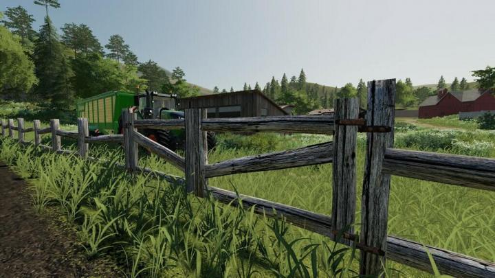 Old Fence With Gate V1.0.0.1