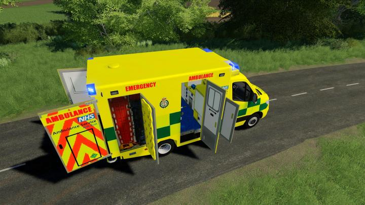 Uk Real Ambulance Reskin V1.0