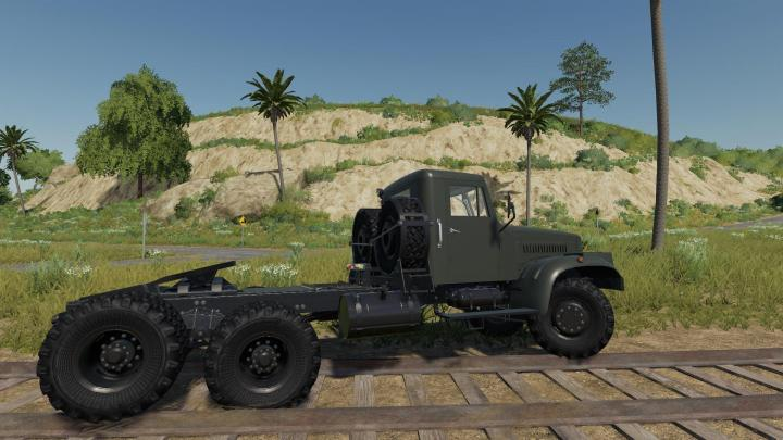 Kraz-258 Truck V1