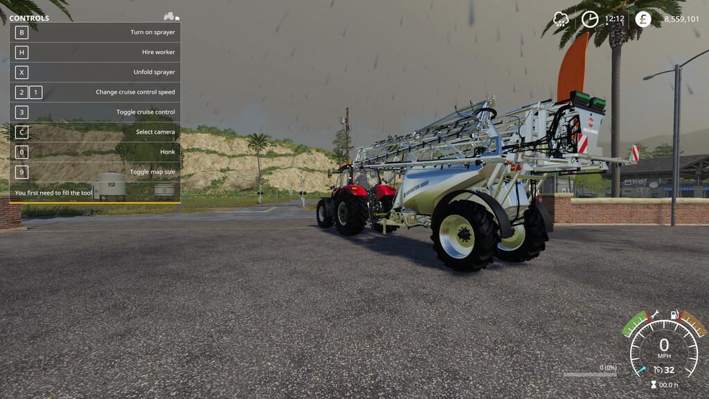 Hardi Interactive Sprayers V1.9