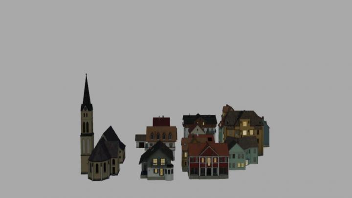 Houses Pack (Prefab) V1